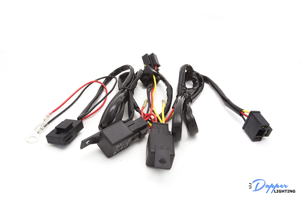 Dapper Lighting H4 Relay Kit (4 Headlamp)