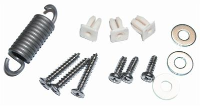 HEADLAMP ADJUSTING HARDWARE KIT; INCLUDES SCREWS; SPRINGS; CLIPS & NUTS; USE 2 PER CAR; 67-68 MUSTANG GMK302106967S