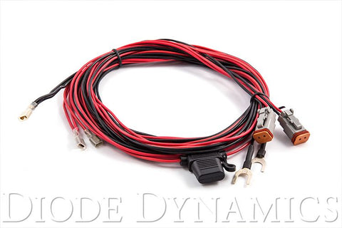 LED Light Bar Wiring Harness (Light Duty Dual Output)