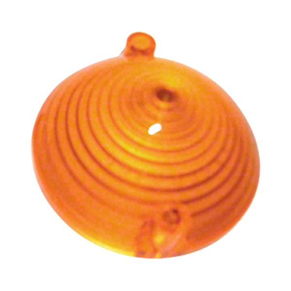 PARK LAMP LENS; AMBER; LH/RH; WITH FoMoCo LOGO; INCLUDES MOUNTING SCREWS; USE 2 PER CAR; 65-66 MUSTANG GMK3020070651