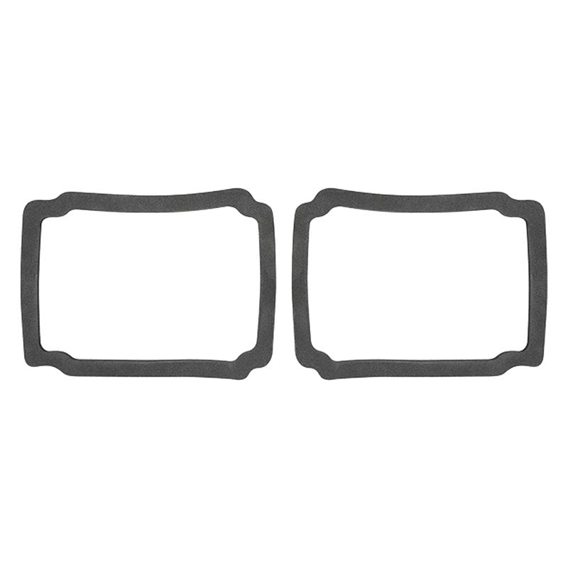 TAIL LAMP LENS GASKETS; LH/RH PAIR; 67-68 MUSTANG; EXCEPT SHELBY OR GT; CALIFORNIA SPECIAL GMK3021845672P