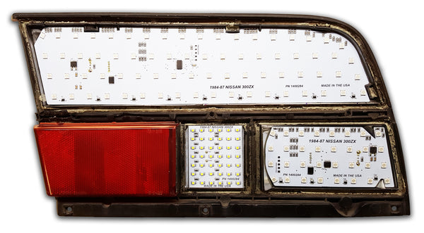 1983 1987 Nissan 300zx Sequential Led Tail Lights With