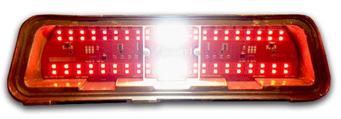 1969 Pontiac Firebird Simple Sequential LED Tail Lights with Reverse