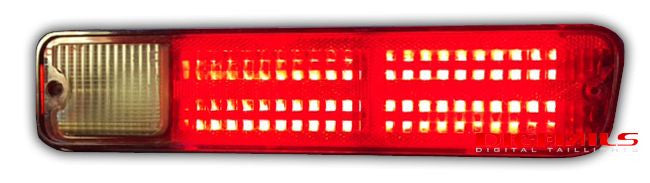 1978-1987 Chevy El Camino Sequential LED Tail Lights with LED Reverse