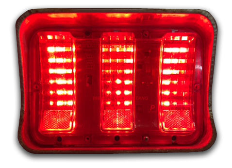1967-1968 Ford Mustang Simple Sequential LED Tail Lights