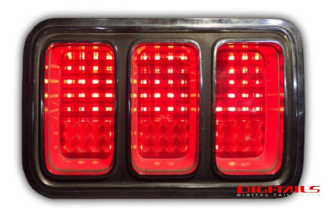 1970 Ford Mustang Simple Sequential LED Tail Lights