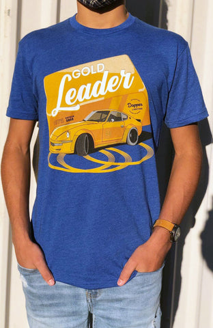*Limited Edition* 'Gold Leader' T-Shirt - 1975 Datsun 280z
