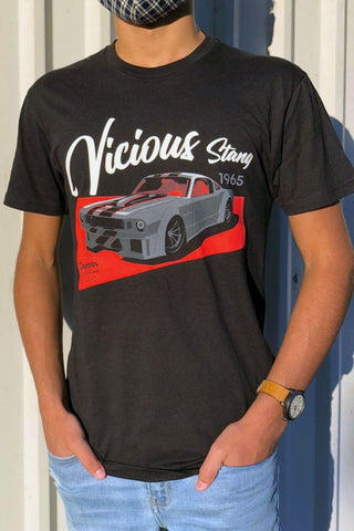 *Limited Edition* 'Vicious' T-Shirt - 1965 Ford Mustang