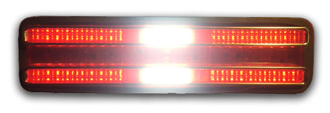 1967-68 Pontiac Firebird Simple Sequential LED Tail Lights with Reverse