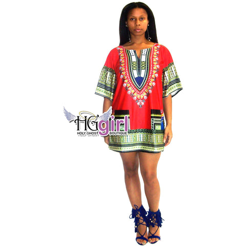 Dishiki Tunic Dresses
