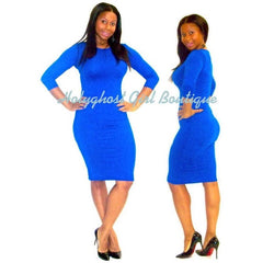 Snatched Body Midi Memory Dress