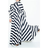 Horizion Puff Sleeve Maxi Dress