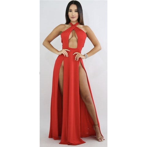 Firey Double Slit Maxi
