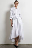 Broadcloth Collared Button Up Dress
