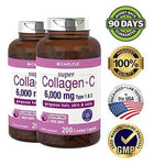 Minoustore Advanced Collagen 200 Caplets with Vitamin C