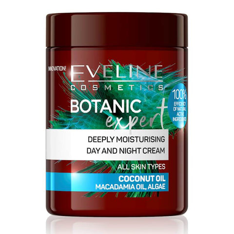 Minoustore Botanic Expert Deeply Moisturising Day & Night Cream Coconut Oil 100ml.