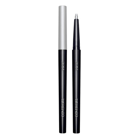 Minoustore CoverGirl 255 Ink It by Perfect Point Plus Eyeliner, Silver Ink