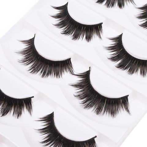 Minoustore Dramatic False Lashes (5 Pairs)