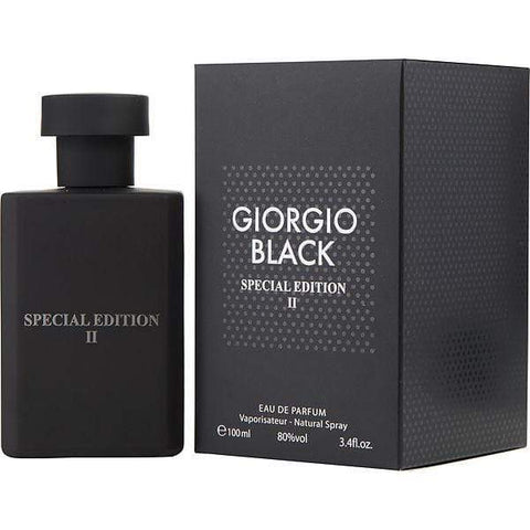 Minoustore Giorgio Black by Giorgio group Special Edition II Eau De Parfum 100ml