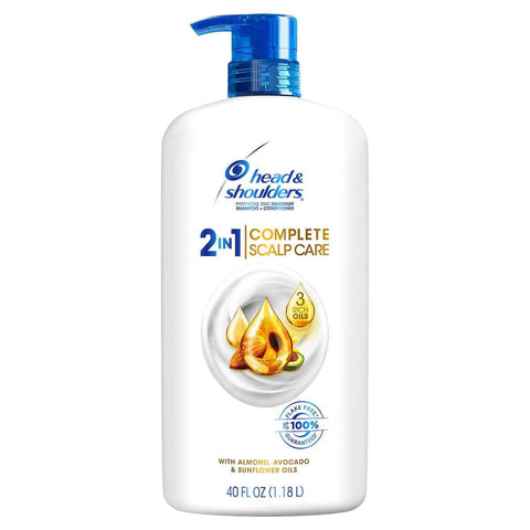 Minoustore Head & Shoulders 2-in-1 Complete Scalp Care, 40 fl oz