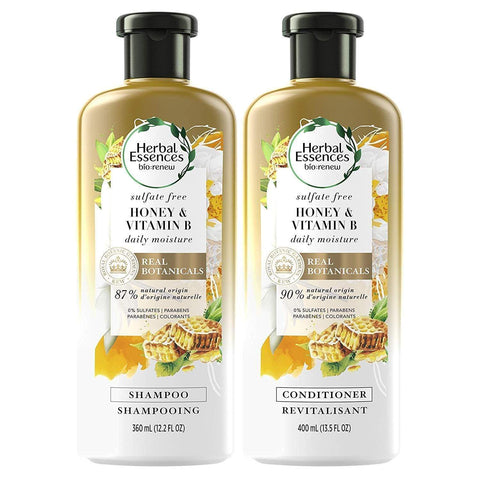 Minoustore Herbal Essences, Sulfate Free Shampoo and Conditioner Kit