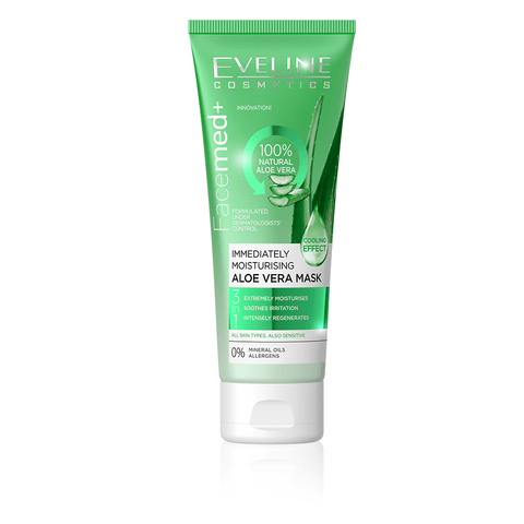 Minoustore IMMEDIATELY MOISTURISING ALOE VERA MASK