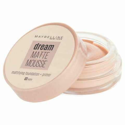 Minoustore maybelline dream matte mousse 10 ivory