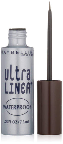 Minoustore Maybelline Ultra Liner Waterproof Liquid Eyeliner Dark Brown