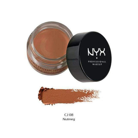 Minoustore NYX Full Coverage Concealer Jar Cj08 Nutmeg