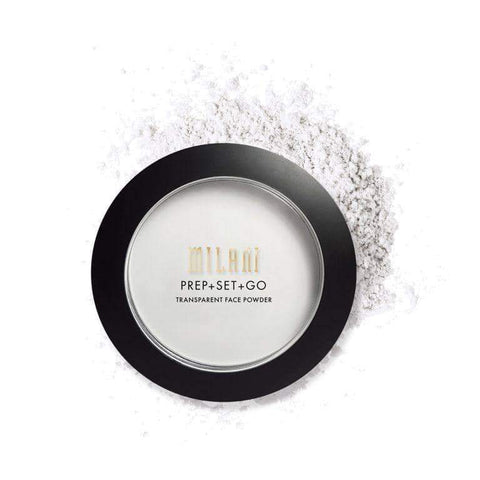 Minoustore PREP + SET + GO TRANSPARENT FACE POWDER
