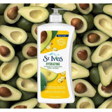 Minoustore St. Ives hydrating vitamin E & avocado body lotion