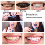 Minoustore Teeth Whitening Charcoal Powder with Bamboo Brush