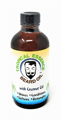 Minoustore Tropical Essence Beard Oil with Coconut Oil