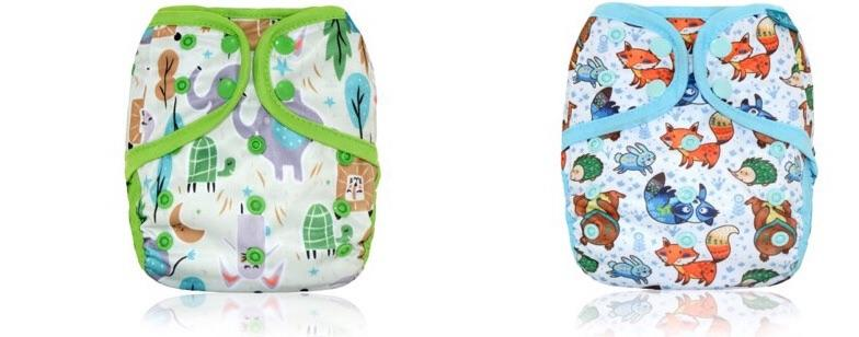 Printed Diaper Covers