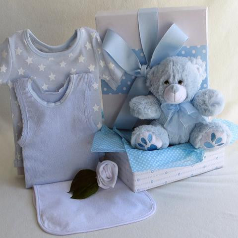 New born baby gift - Four little bears in a box