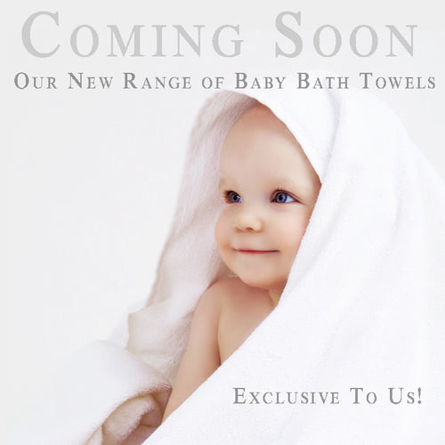 Personalised Baby Bath Towels