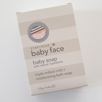 Baby Face Baby Bath Soap No Nasty Chemicals
