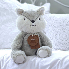 Big Grey Fox Neutral Baby Gift