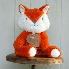 Big Orange Fox Neutral Baby Toy