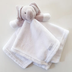 Little Elephant Cuddly Baby Comforter Neutral Baby Gift