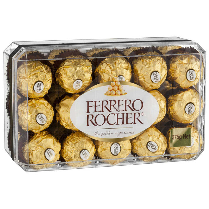 Ferreo chocolates add to any hamper gift