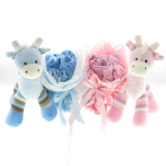 Twins triplets gifts yellow duck baby gifts and hampers twins giraffe love negle Gallery