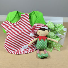 Boys Elf Baby Gift Christmas Hamper
