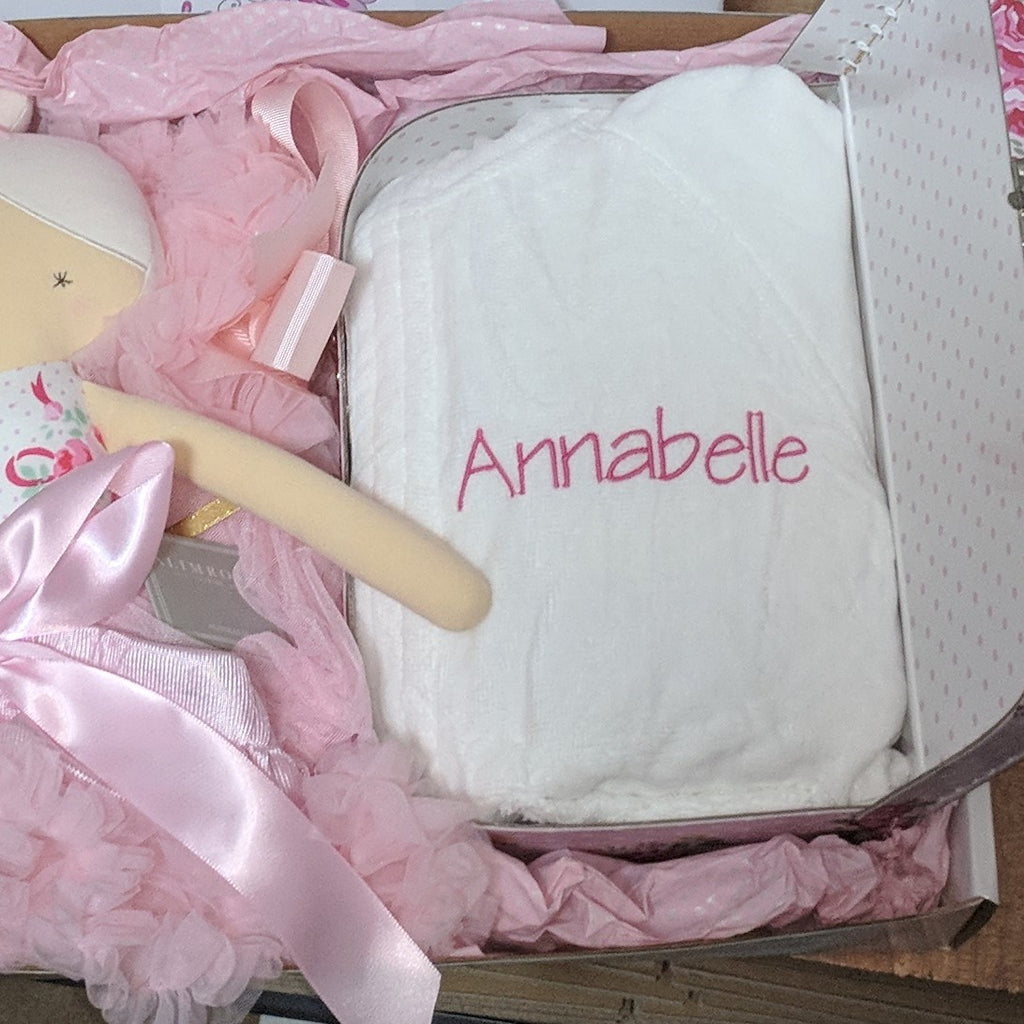 Baby Bath Robes Personalised Delivered Australia Wide Yellow Duck Baby Gifts And Hampers