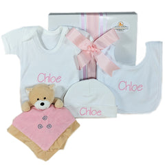 Baby Girl Personalised Gift Box