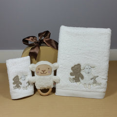 Little Lamb Bath Time Hamper