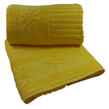 extra large beach towels great corporate gift yellow