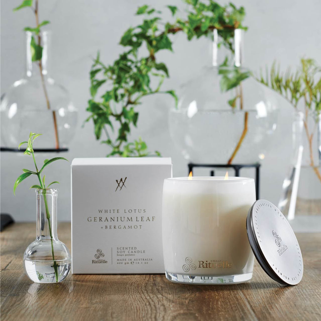 Urban Rituelle Mama Soy Candle White Lotus