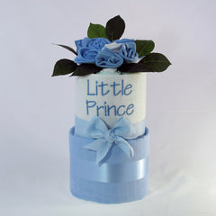 Boy's Little Prince Nappy Cake