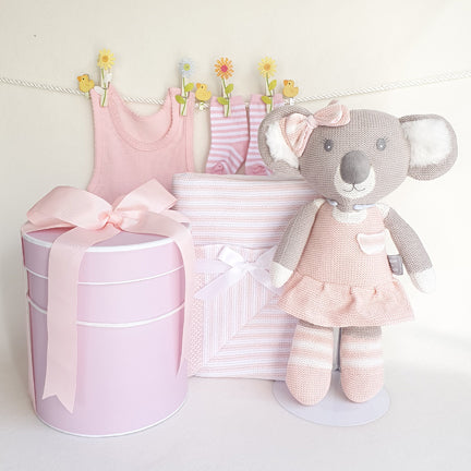 Koala Dreams Baby Gift Hamper Girl
